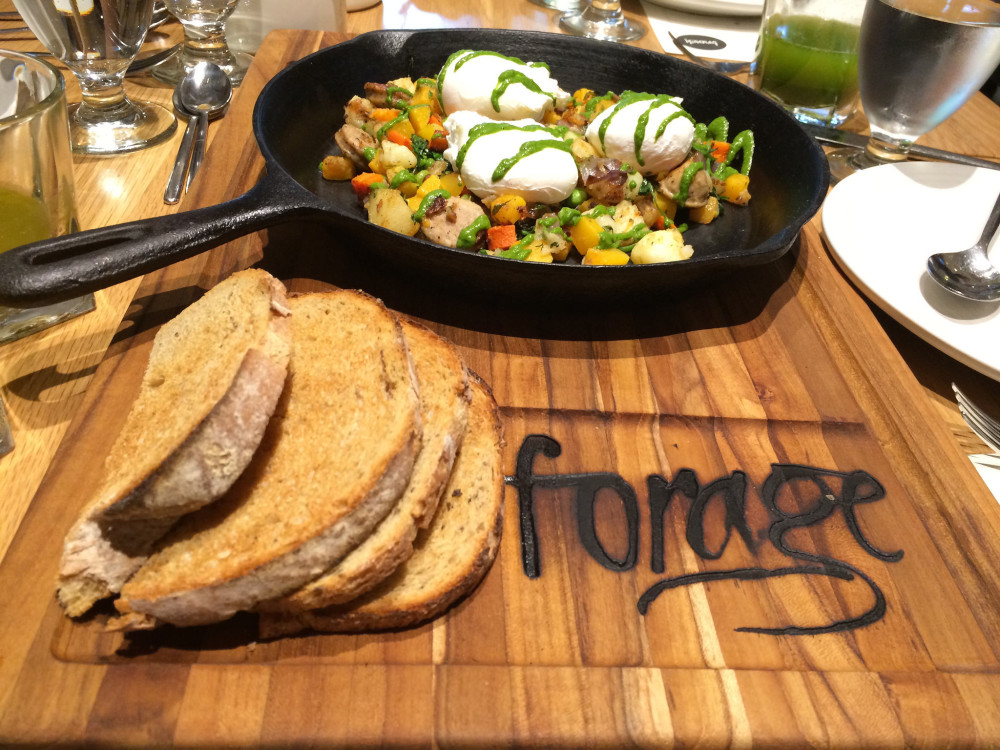 Forage Vancouver Breakfast | www.rtwgirl.com