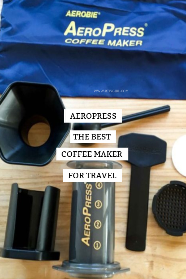 Aeropress: The Best Coffee Maker For Travel