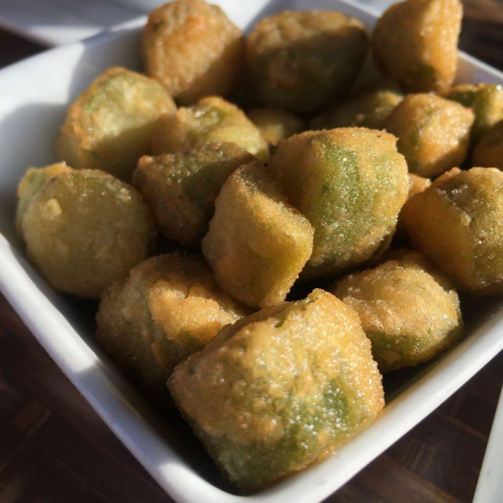 Fried Okra - Georgia | www.rtwgirl.com