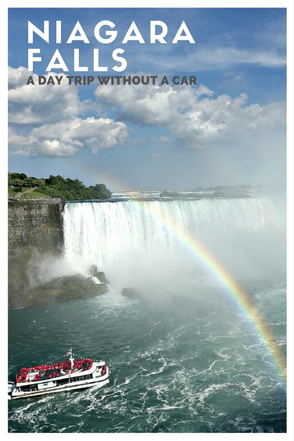 Niagara Falls Day Trip: How To Visit Niagara Falls Without A Car | www.rtwgirl.com