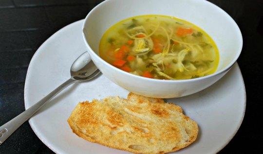 Chicken Noodle Soup Recipe   www.rtwgirl.com