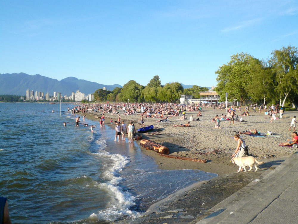 Vancouver Beaches - Kits Beach | www.rtwgirl.com