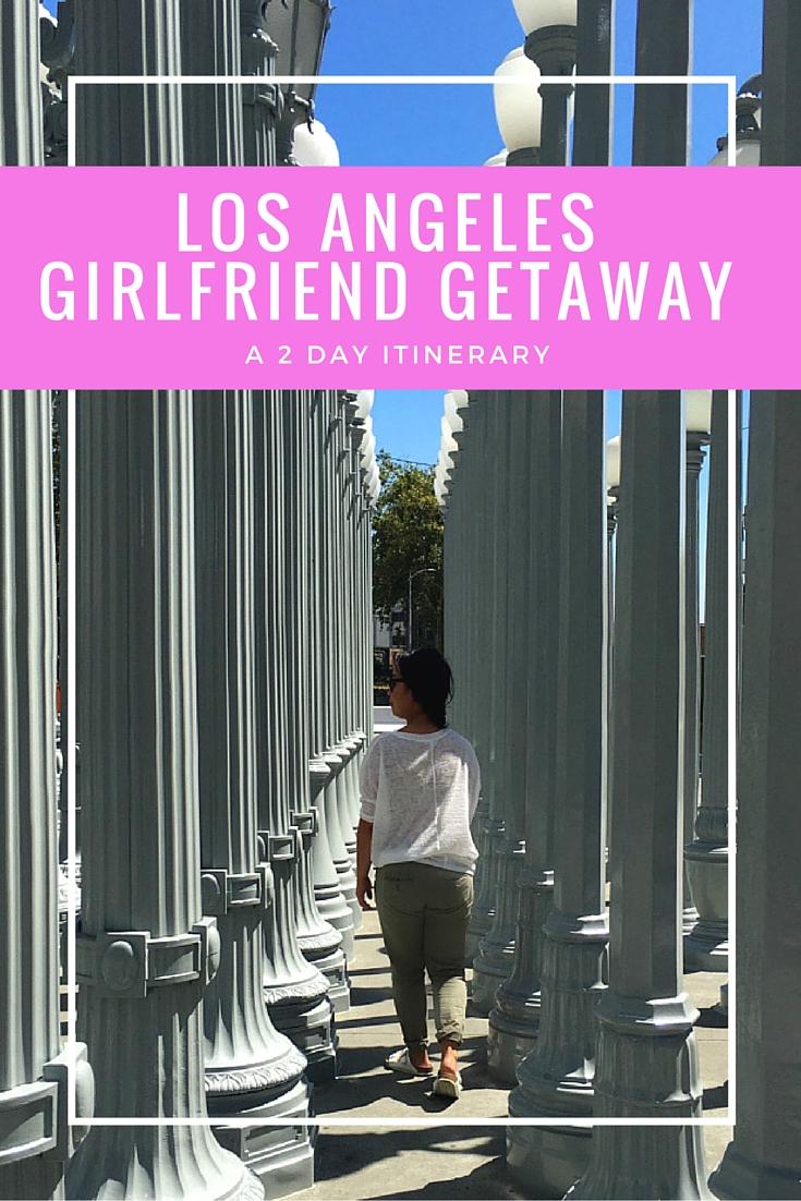 Los Angeles Girlfriend Getaway | www.rtwgirl.com