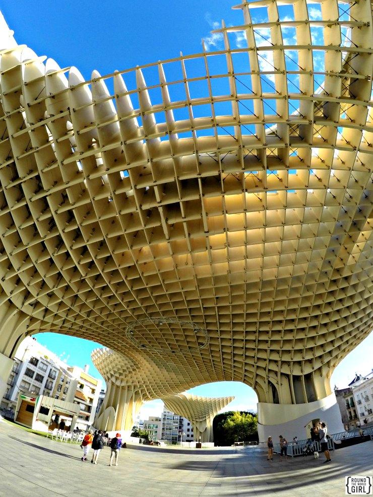 Las Setas De Seville | www.rtwgirl.com