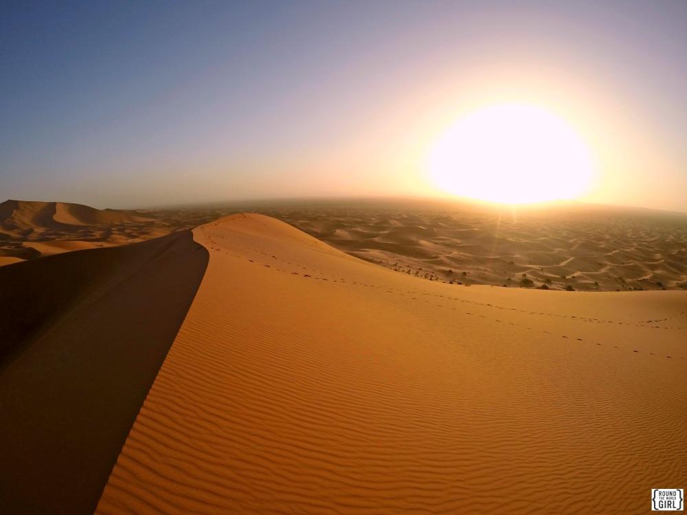 Erg Chebbi Sunrise Sahara