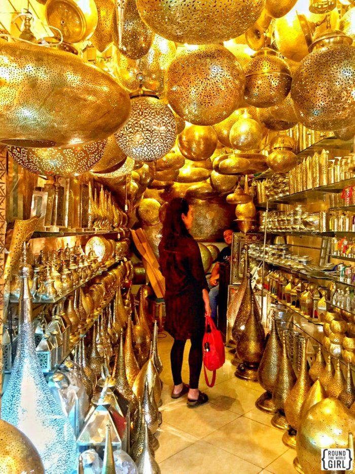 Shopping in Marrakech | www.rtwgirl.com