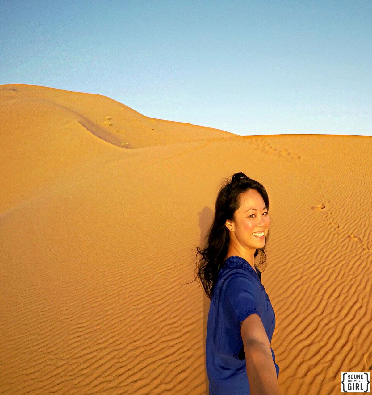 Camping in the Sahara Desert | www.rtwgirl.com