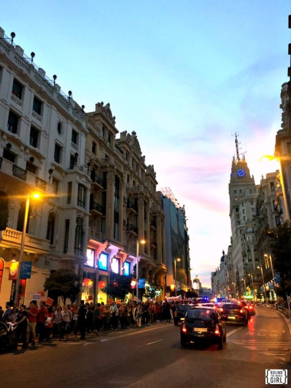 Gran Via - Free Madrid | rtwgirl