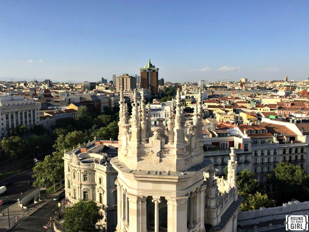 Mirador del Palacio de Cibeles - Free Madrid