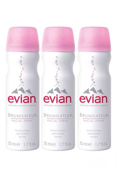 Long Haul Flight Essential - Evian Spray | www.rtwgirl.com