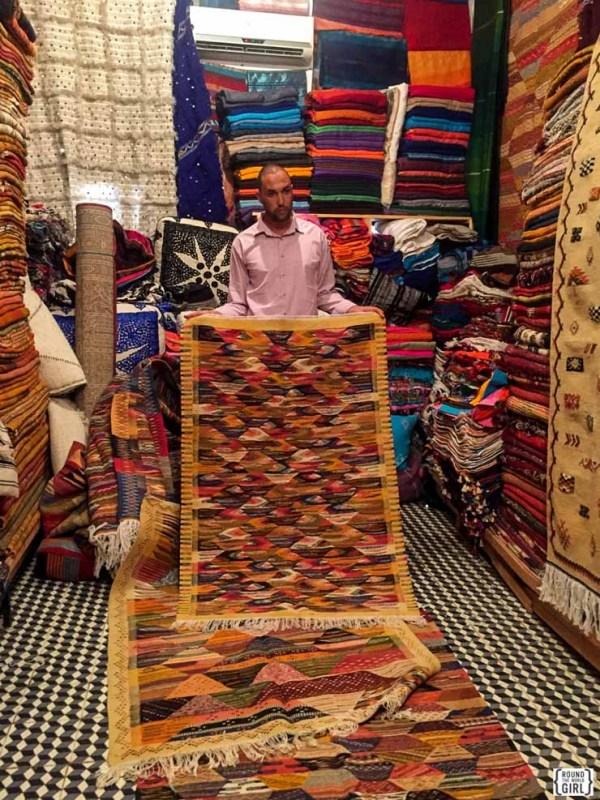 Carpet Shopping in Marrakech Medina