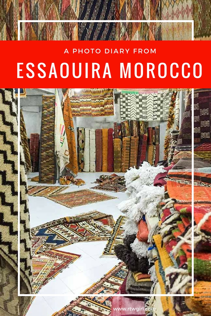 Need some photo inspiration of Essaouira? Here is a photo diary from Essaouira Morocco   www.rtwgirl.com