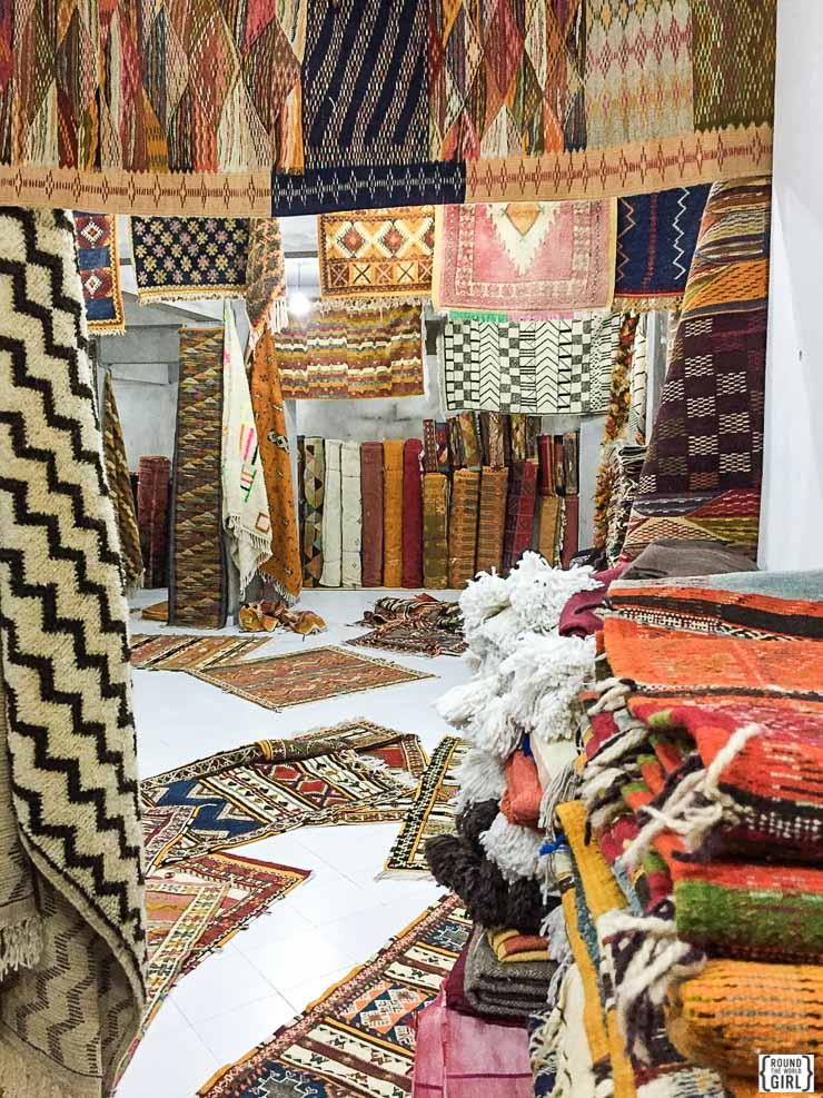Essaouira carpets   www.rtwgirl.com