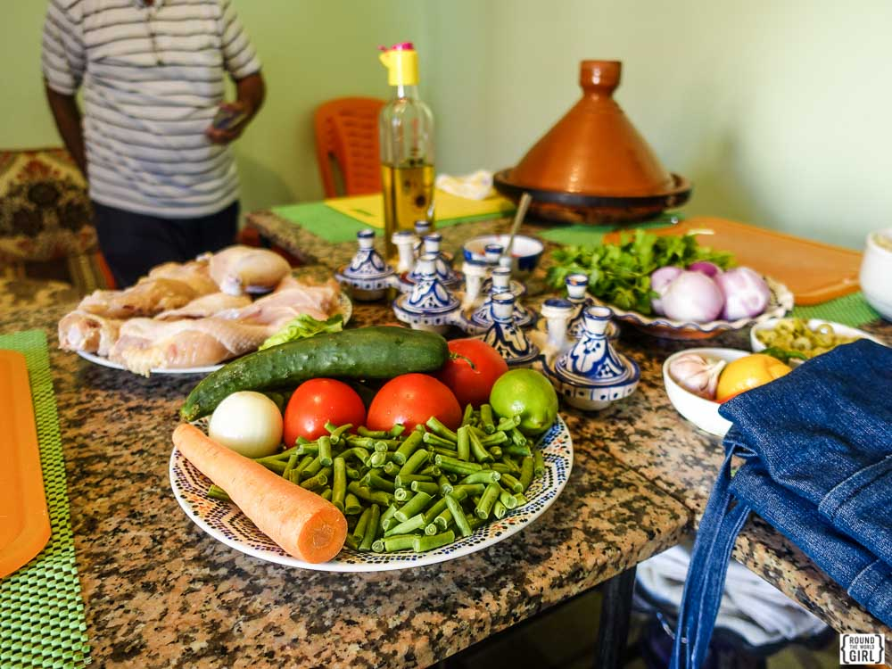 Moroccan Cooking class with Khadija's Kuzina