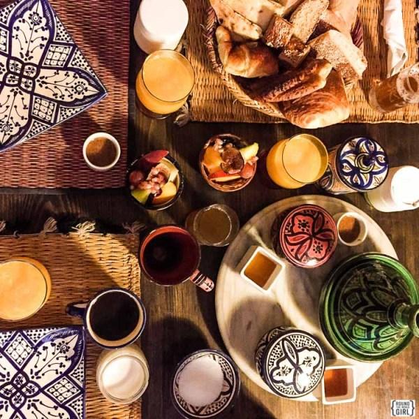 Breakfast in Essaouira