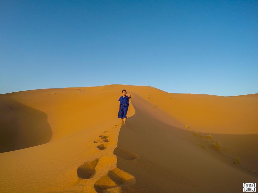 Dune GoPro Selfie
