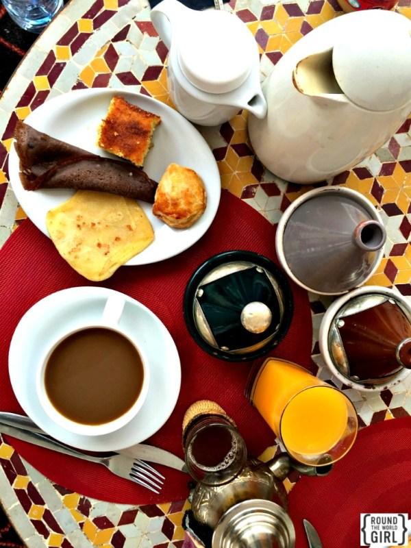 Riad Nesma petit dejeuner