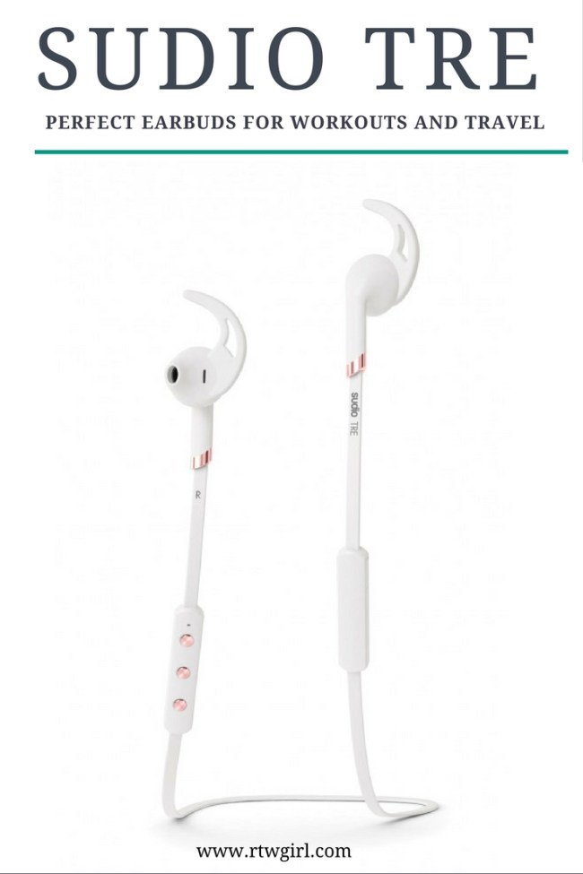 Sudio Tre - Perfect Earbuds For An Active Lifestyle | www.rtwgirl.com
