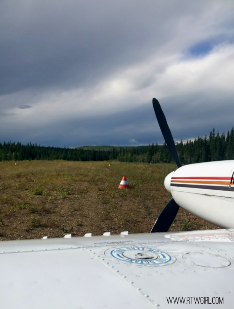 A Photo Diary From A Flightseeing Tour to Fort Selkirk, Yukon | www.rtwgirl.com
