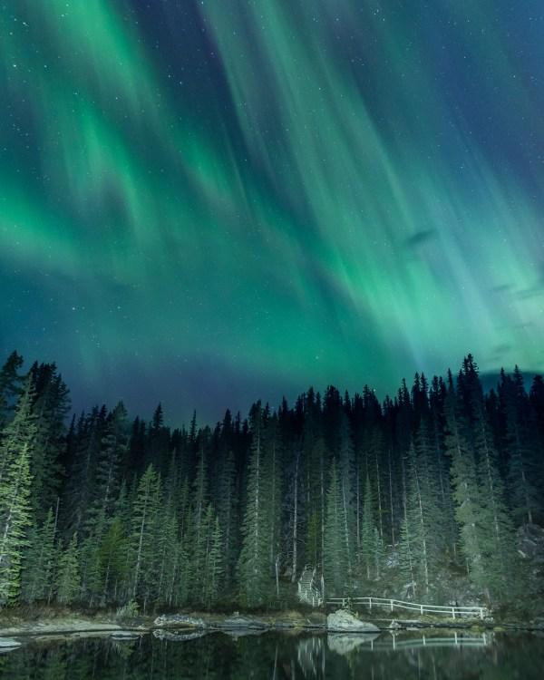 Northern Lights by Jeff Bartlett