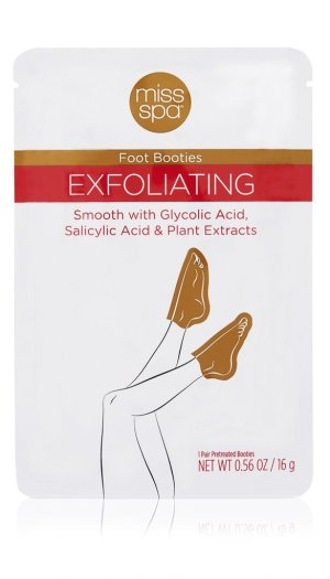 Smooth feet - Miss Spa Exfoliating Bootie | #beauty