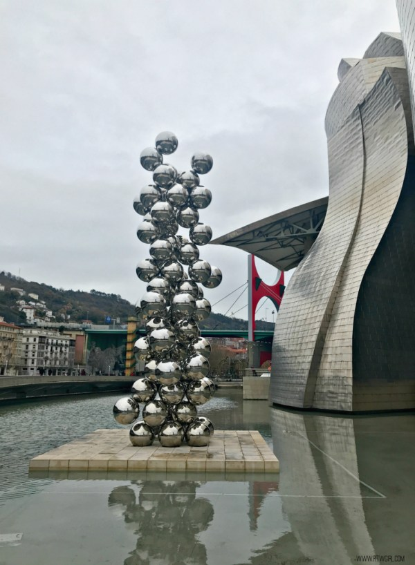 Tall Tree And The Eye Anish Kapoor Guggenheim Bilbao | www.rtwgirl.com