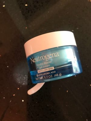 Skincare Routine - Neutrogena Hydro Boost Gel Cream