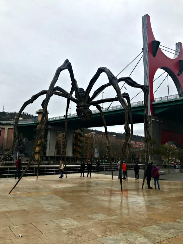 Maman Guggenheim Bilbao | www.rtwgirl.com