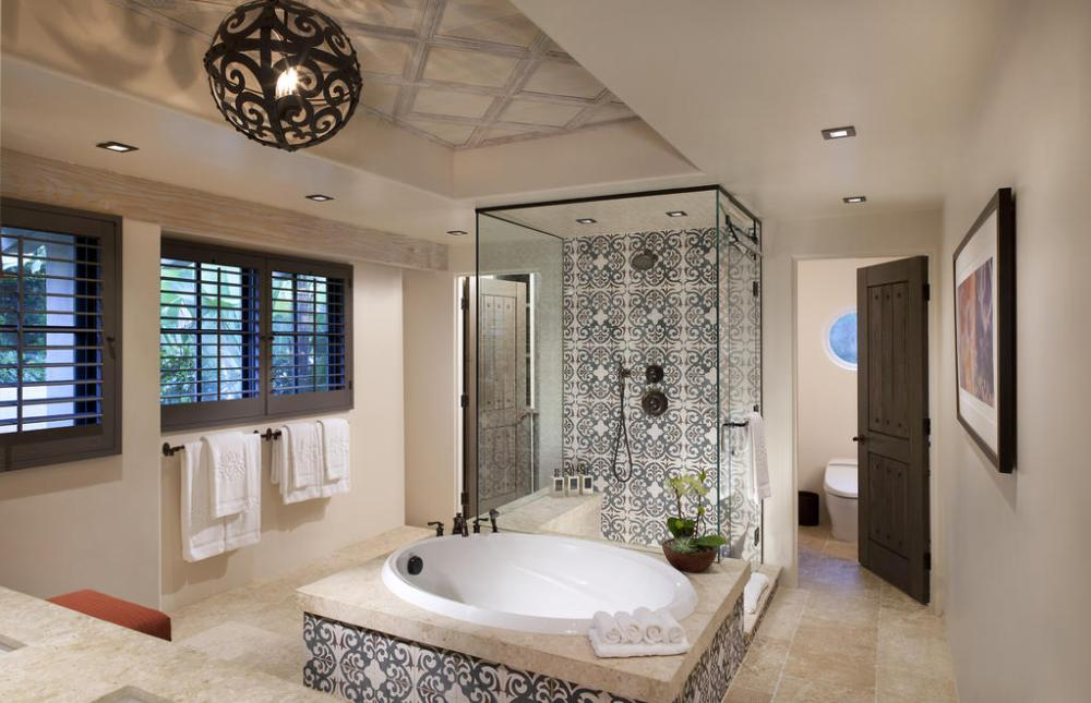 Rancho Valencia Bungalow Bathroom