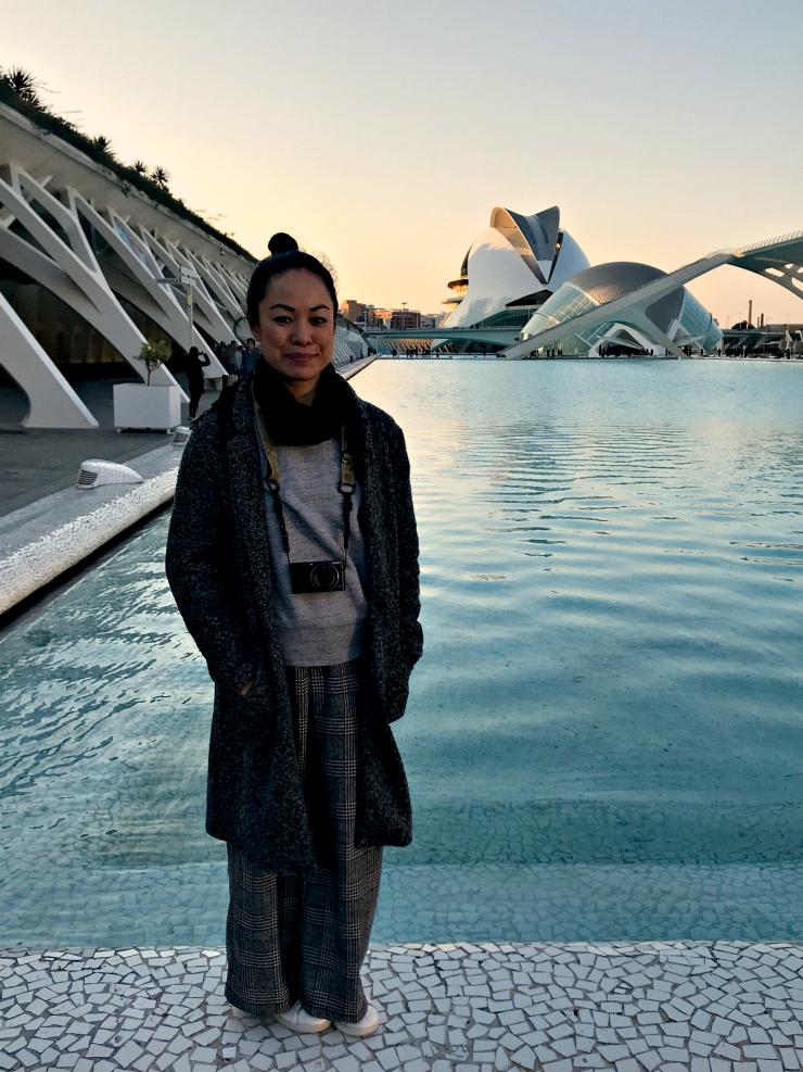 Ciudad de las Artes y las Ciencias in Valencia | www.rtwgirl.com