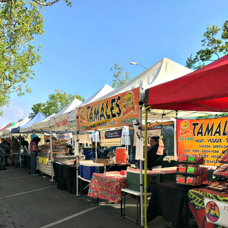 State Street Farmers Market in Carlsbad California