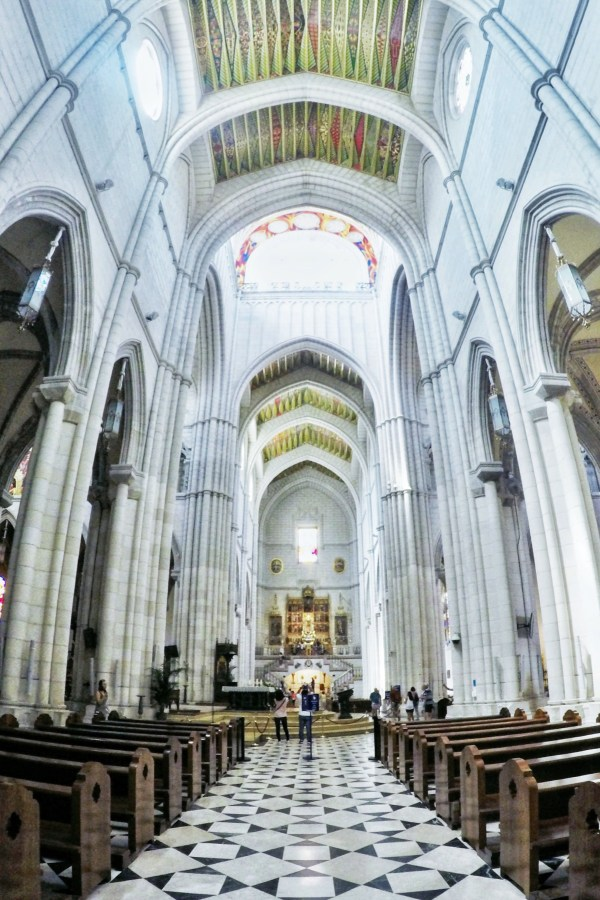 Madrid weekend - Visit Catedral de la Almudena next to the royal palace
