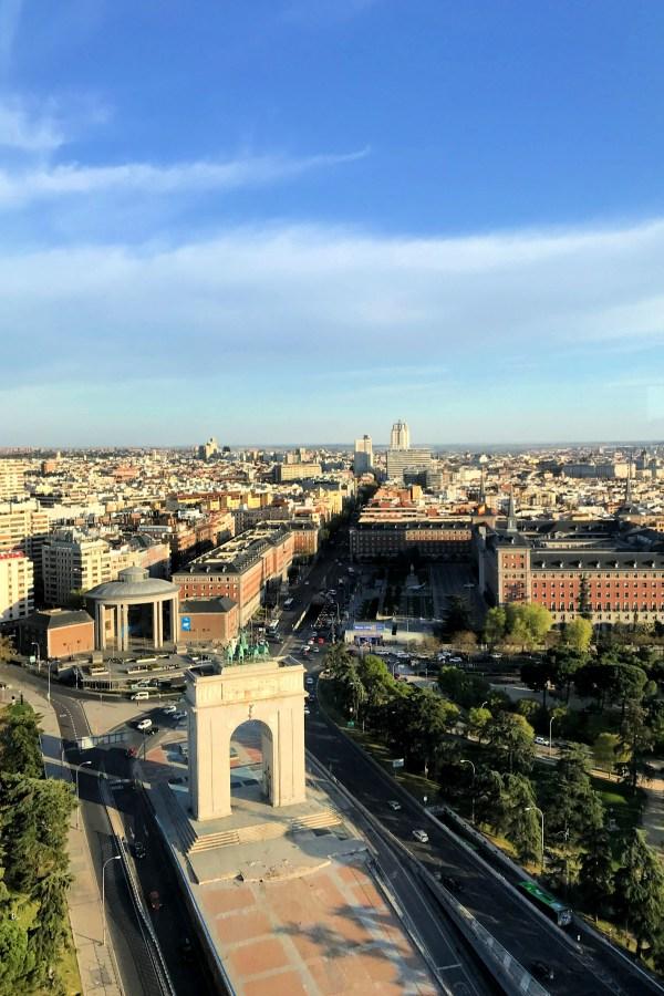 Faro de Moncloa In Madrid