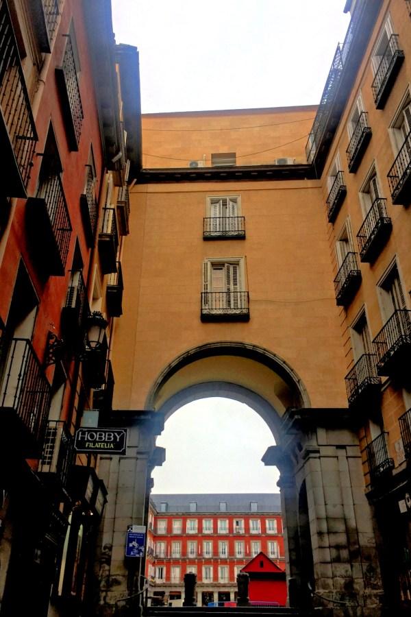 Plaza Mayor Gate