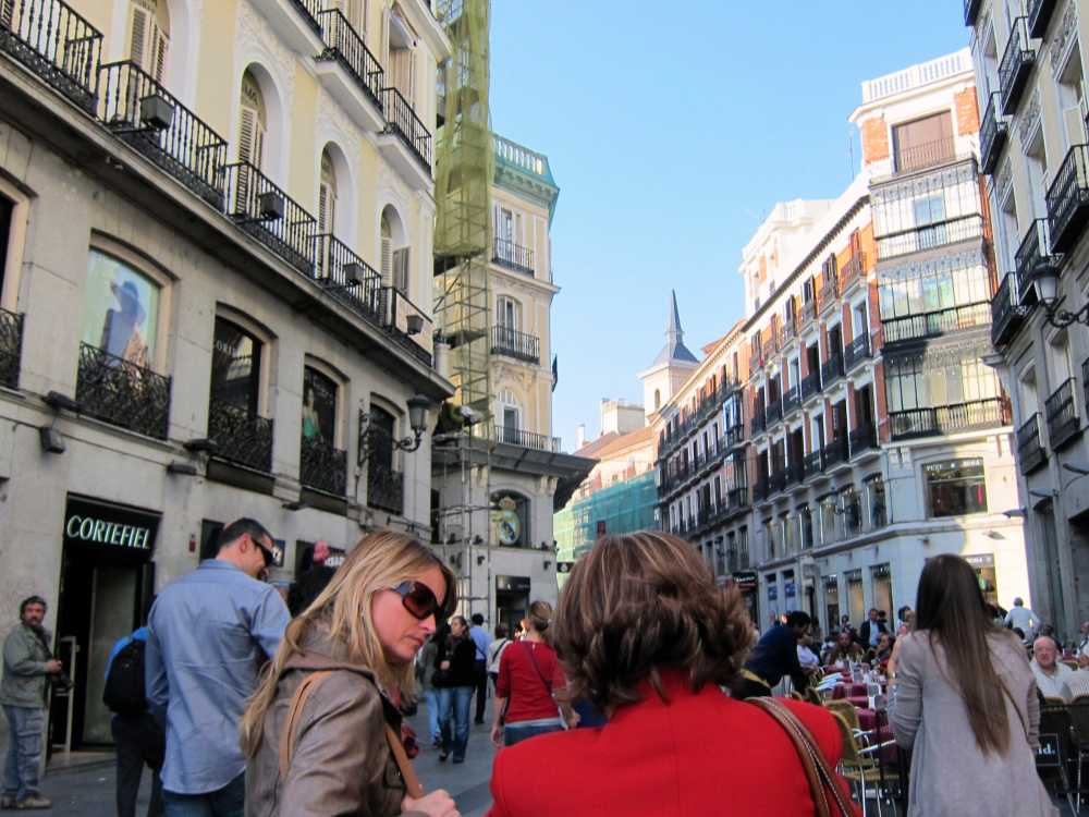 Shopping In The Spanish Capital