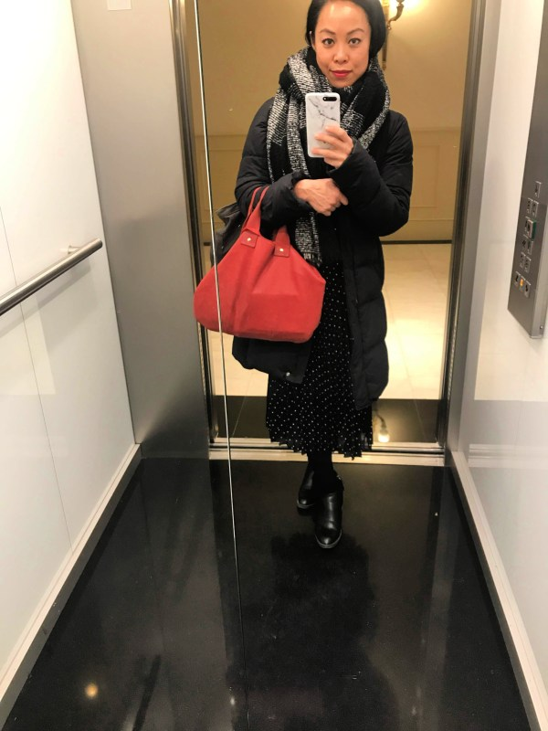Uniqlo Puffy Jacket For Winter
