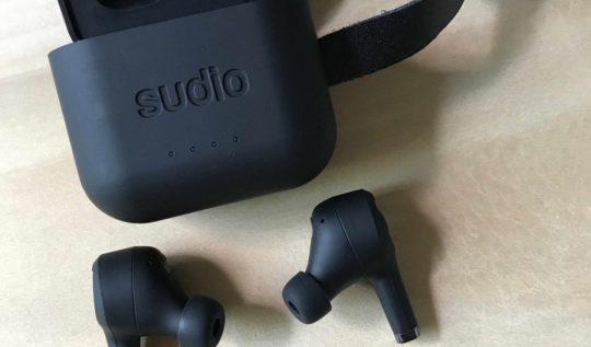 Sudio Ett: Noise-Cancelling Earbuds