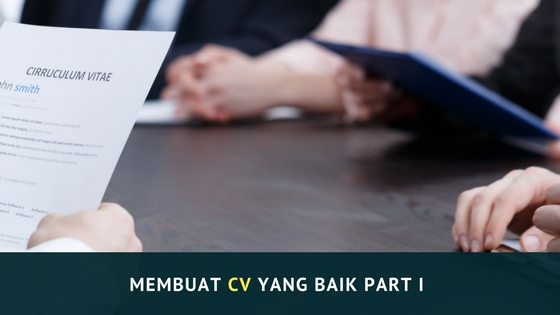 TIPS MEMBUAT CV