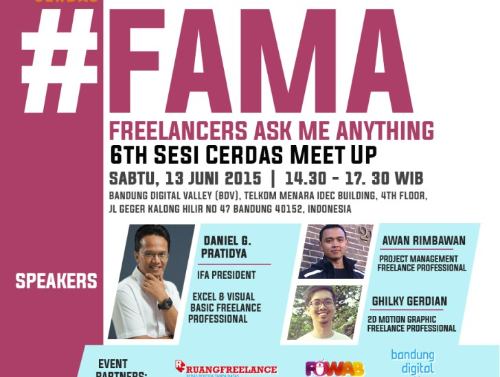FAMA: Freelancer Ask Me Anything
