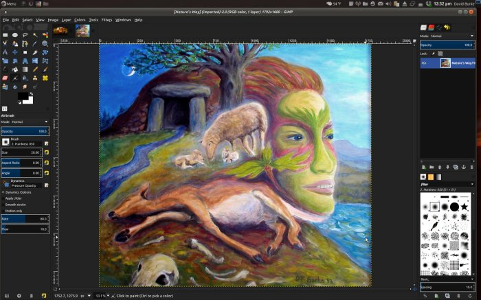 GIMP (Gnu Image Manipulating Photo) - Download Software Desain Grafis Berbasis Vektor – GRATIS