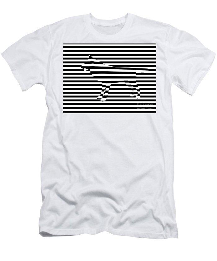 Optical Illusion T-shirt Design - Contoh Desain Kaos yang Unik dan Menarik - Pixels.com