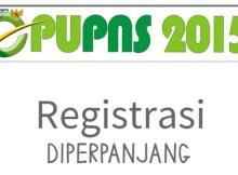 Registrasi PUPNS Diperpanjang