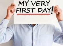Hari Pertama Kerja