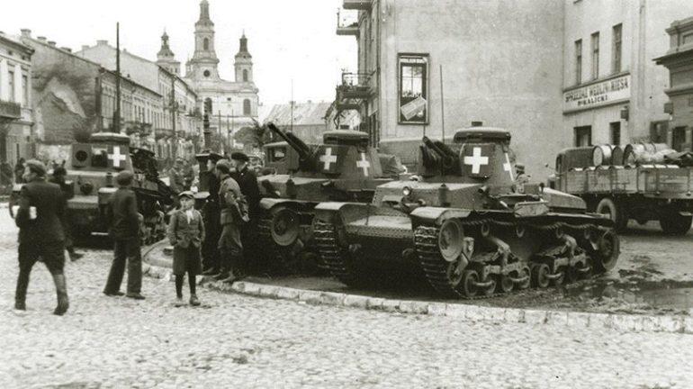 Танки вермахта в Польше, 1939 год / Фото: LiveJournal