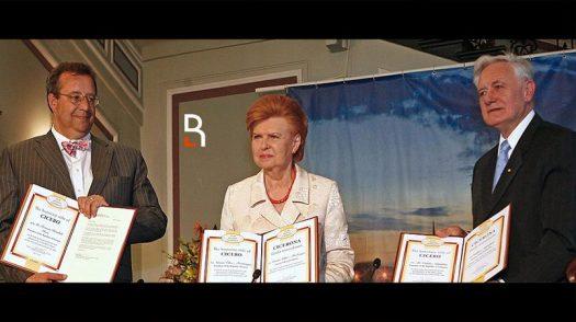 Томас Хендрик Ильвес, Вайра Вике-Фрейберга и Валдас Адамкус / Коллаж RuBaltic.Ru