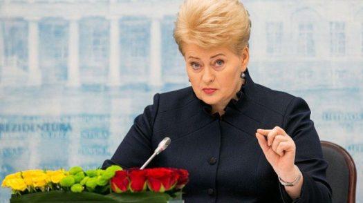 Даля Грибаускайте / Фото: PodrobnoNews.Ru