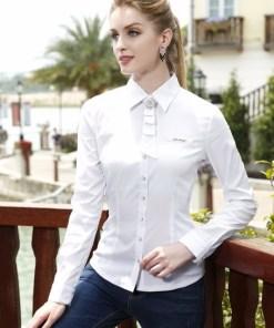 Блузка женская 13139 белый цвет