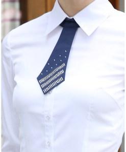 Блузка женская 13207 белый цвет