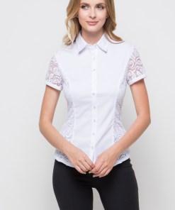 Блузка женская 132139 белый цвет
