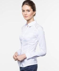 Блузка женская 13262 белый цвет